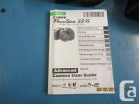 Canon PowerShot S3 IS and hard case and Durell cell