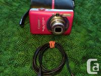 Canon PowerShot SD 1200 with all accessories - battery,