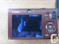 Canon Powershot SD1100 IS Digital ELPH, 2008 model, 8.0