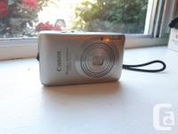 Canon point-n-shoot digital camera. 14.1 Megapixels. A