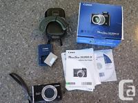 The Canon PowerShot SX200 IS is a compact camera that