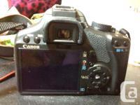 Hi, I'm selling my never used Canon Rebel T1i SLR