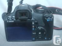 Canon Rebel TI1 camera. Excellent condition. EFS 18-55