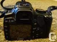 Canon Model DS126151 digital camera with 18-55mm EFS