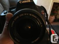Selling my canon t21 with only 9k shutter counts on