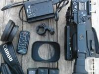 Hi there,  I'm selling my pro camcorder, the Canon