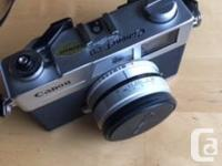 Good condition Canonet. Hasn�t had a role through in