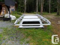 Canopy & Custom roof rack for 2005 F-350 Long box. Will