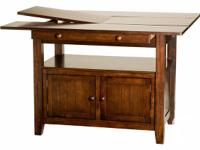 This attractive, well remained, table features a