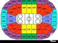 Sec 310, row 9 Seats 1/2 $200/pair ($40 below face