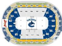 Tuesday Nov 19 Canucks vs Panthers 2 seats @ $90 per