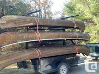We repair, restore and re-cover wood and canvas canoes.