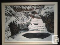 Original Paint of Johnston Canyon in lovely Banff