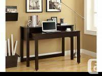 """Cappuccino 48""""L Spacesaver Nesting Desk Two is better"""