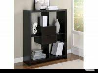 """Cappuccino Hollow-Core 48""""H Bookcase with Storage"""
