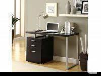 "Cappuccino Hollow-Core Left or Right Facing 48""L Desk"
