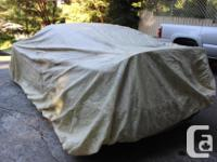 This 100% polypropylene car cover was bought for a full