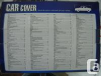 This is a car cover that I purchased but never used. It