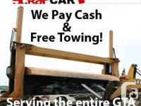 Southern Ontario Scrap Car Removal is open for 24 hours