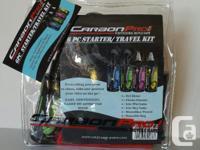 CarbonPro 6-Pc Starter/Travel Kit provides the