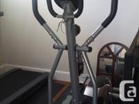 Cardio Style elliptical $250 Treadmill sold separately