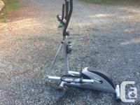 Cardio Style Elliptical Trainer ET 150, in excellent