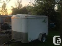 5' X 8' Trailer, double rear doors is in excellent