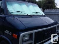 Make GMC Model Vandura G1500 Colour blue Trans