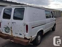 Make Ford Model Econoline E150 Year 1991 Colour White, used for sale  Saskatchewan