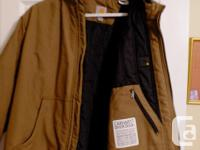 Very nice Olive coloured Carhartt jacket for sale. This