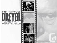 Carl Theodor Dreyer Box Set (Criterion Collection)