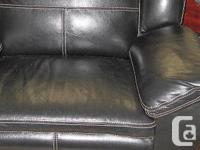 Carmen La-Z-Time® Leather Reclining Chair - This