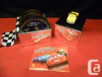 Cars Directors Edition Set on Bluray, inventory