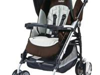 I have a Britax Roundabout carseat and Peg Perego Pliko