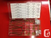 Carter/Edelbrock Carb strip kit metering rods and jets