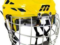 Cascade M11 Helmet Combo - Yellow - Size Large - BRAND
