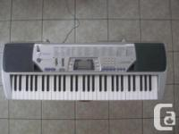 Casio Model: CTK-49G Electronic Keyboard: - 60 key