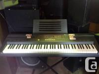 I have a Casio WK-110 piano style digital keyboard in