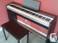 Excellent condition. Works perfectly. Casio PX-120