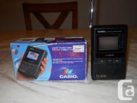 """Casio TV - 400 Liquid Crystal Colour Television, 2"""""""