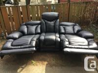 Originally a very expensive power recliner couch/sofa,
