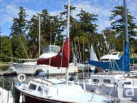 Catalina 22 sailboat for sale. Including all appendages
