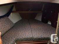 1989 Catalina 34, great family boat. Newer universal