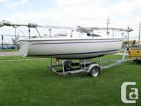 Brand new 2014 Catalina fixed keel Capri II.  See