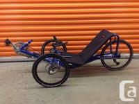 CATtrike brand Pocket from early 2000.   Disc brakes,