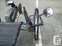 Catrike tadpole trike for sale with Bionx electric