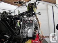 This is a 1981 Honda CB 900cc 10 Speed almost In the