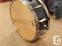 """Included: 22"""" bass drum 16"""" floor tom (with legs) 13"""""""