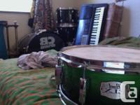 CB drum kit, drums only (black) -kick drum -high, mid,