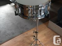 Selling a basically new CB snare drum kit. The package